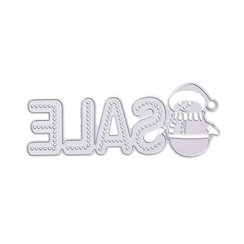 JiaMeng Troqueles para ¨¢lbumes de Recortes, Troqueles de Corte de Metal de Coraz¨®n de Flor Scrapbooking Plantillas Estarcir Gofrado Troquelado Kit