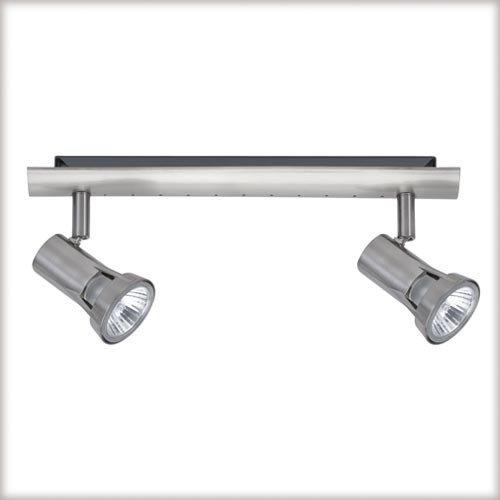 Paulmann Spotlights Teja Balken 2x50W Nickel satiniert 230V Metall