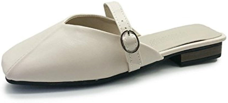 iangl flip flop summer sandales dames baotou cool pantoufles pantoufles pantoufles chaussures aux talons plats et de chaussures de muller 0c402f