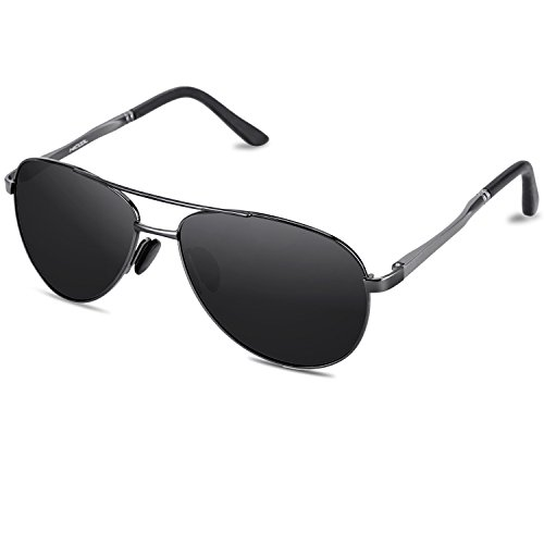 Hicool Sonnenbrille Classic Unisex Aviator Pilotenbrille Flieger Sonnenbrille Polarisierte HD TAC...