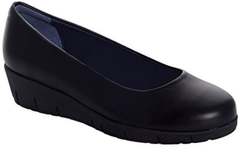 Oneflex Camile negro - zapatos anatómicos cómodos para mujer