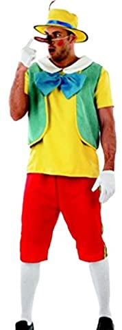 Costumes Geppetto - erdbeerloft–Homme Carnaval Costume complet Contes une marionnette