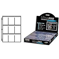 Ultra Pro Caja de 100 Hojas de 9 Bolsillos, Color, 35 x 10 x 25 cm (E-83423)