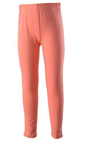 Banner Bonnie Mädchen Skinny Leggings, Einfarbig Mehrfarbig Mehrfarbig 30 Gr. 8-9 Jahre, Korallenrot