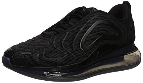 Nike Herren Air Max 720 Leichtathletikschuhe, Schwarz (Black/Black/Anthracite 000), 45.5 EU