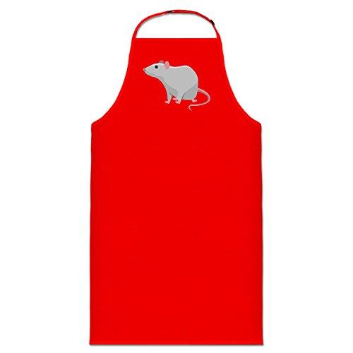 Grey Mouse Rat Kochschürze by Shirtcity