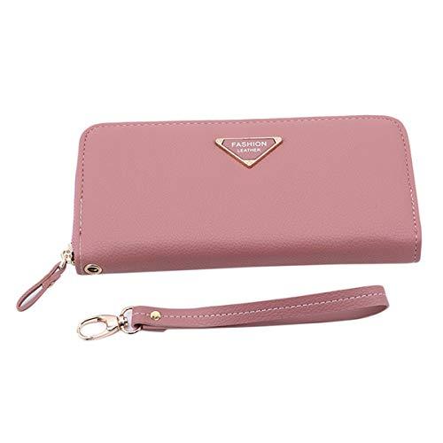 Winwinfly Frauen Geldbörsen Handtasche PU Leder Brieftasche Weibliche -