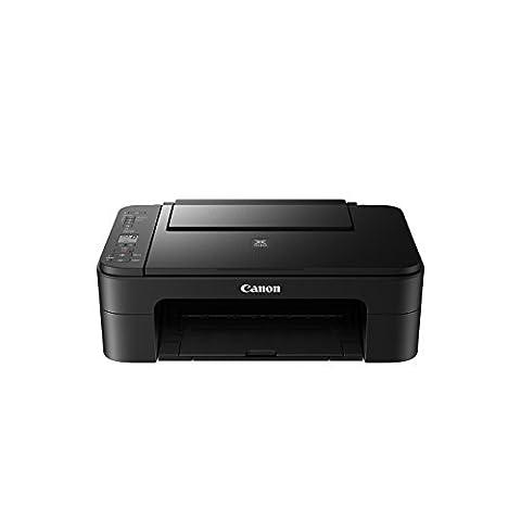Canon PIXMA TS3150 Farbtintenstrahl-Multifunktionsgerät (Drucken, Scannen, Kopieren, 3,8 cm LCD Anzeige, WLAN, Print App, 4.800 x 1.200 dpi) schwarz