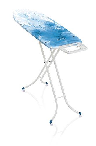 Leifheit Classic M Basic Tabla de Planchar, Metal, Azul, 40.5x8x141 cm