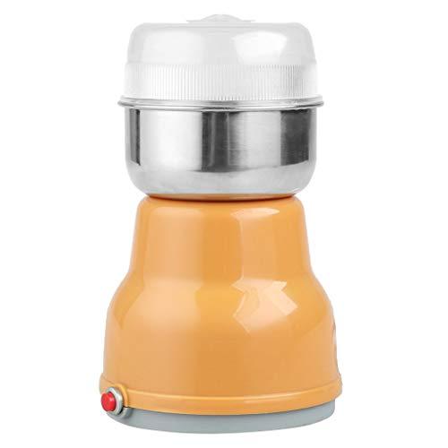Café Molinillo eléctrico de 150 vatios con Recipiente de Polvo eliminación,17x11x11cm,50-60HZ A