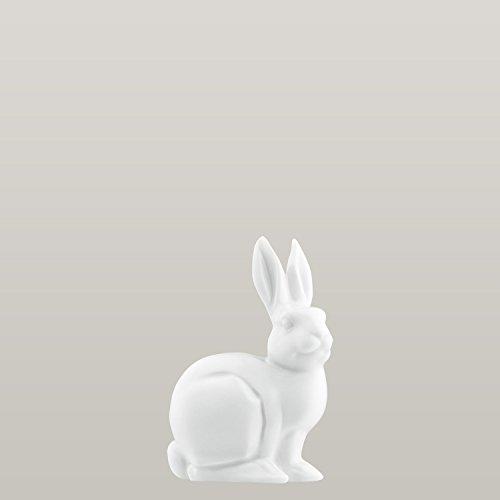 Fürstenberg - 179910 - Jahreshase 2006 - Der Weltenbummler - Weiß - Porzellan - 6,3 x 9,7 cm