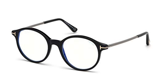 Tom Ford Brillen FT5554-B BLUE BLOCK BLACK Unisex