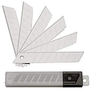 50 Stück Abbrechklingen - Ersatzklingen für Cuttermesser - 18 mm von S&S-Shop bei TapetenShop