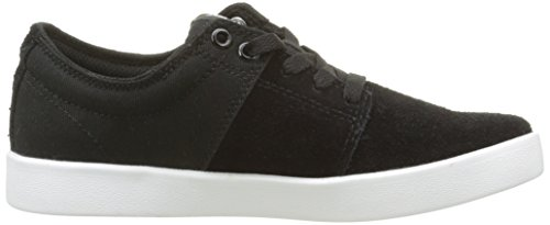 Supra Stacks Ii, Sneakers Basses mixte adulte Noir (Black - White)