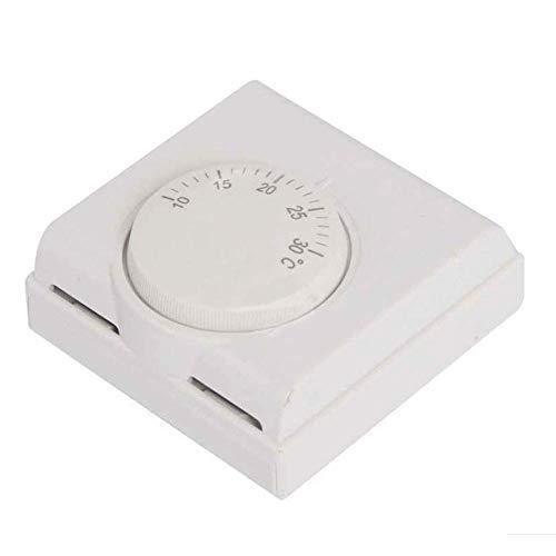 Thermostat Blinker Schalter Langlebig Sicher Heim Regler Kühlung Belastungen Heizung Zimmer Klimaanlage Manueller Wandmontage Fernbedienung Einfache Installation Mechanischer -