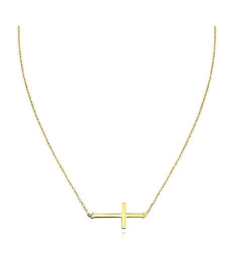 SOFIA MILANI Damen Halskette Kreuz Quer 925 Silber 50210