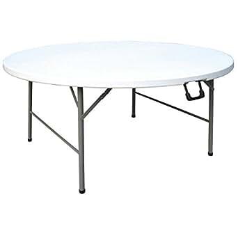 Boléro cc506rond Centre Table pliante, 5de diamètre