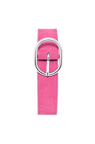 ESPRIT edc by Accessoires Damen Gürtel 028CA1S005, Rosa (Dark Pink 650), 85