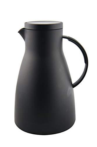 Xtra, Pichet Isotherme, La Bouteille Thermos, Pot de café, Haute qualité kunststof, 1,5 Liter, Surv, Noir