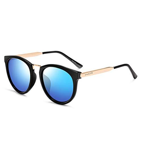 KISlink Sonnenbrille Fashion Style Wayfarer Polarized Sonnenbrille für Frauen Eyewear (Farbe: E)