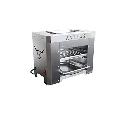 Asteus Steaker V2 Elektro Infrarot Grill bis 800° Grad Edelstahl V2A Indoor Outdoor