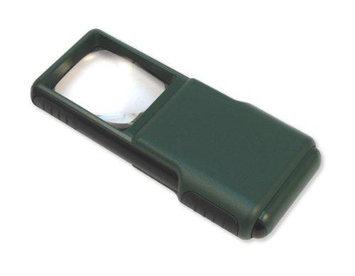 Carson MagniBrite 5 x LED beleuchteter Slide-Out-Schutzhülle mit Vergrößerungsspiegel