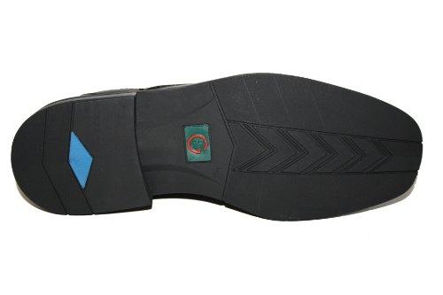 Naot , Chaussures de ville à lacets pour homme Noir - Schwarz (Nero)