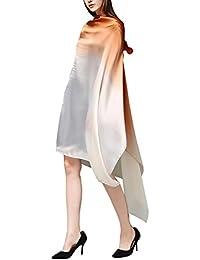 5 ALL Echarpe Foulard Femme Couleur de Dégradé Anti uv Coloré En Soie Grand  Foulard Soie Chale Femme Echarpe… 70767118479