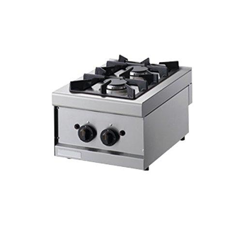 Cuisine 2 feux à gaz - Dim.CM. 40 × 60