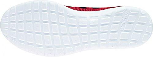 adidas Herren Cloudfoam Lite Racer Laufschuhe Rot (Scarlet/core Black/ftwr White Scarlet/core Black/ftwr White)