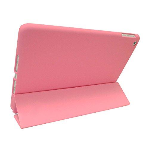 KHOMO Funda iPad Air 1 - Carcasa Rosa Protectora Ultra Delgada y Ligéra con Smart Cover y Soporte para Apple iPad Air 1 - Dual Pink
