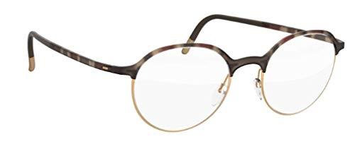 Preisvergleich Produktbild Schwarzkopf Silhouette eyeglasses Urban Fusion Fullrim 2910 6020 49 / 1920 / 140 gold / havana