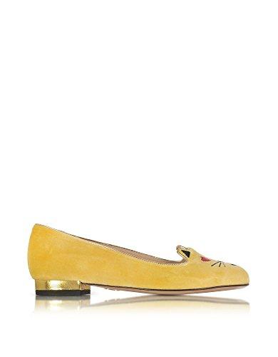 charlotte-olympia-ballerine-donna-v009729725-velluto-giallo