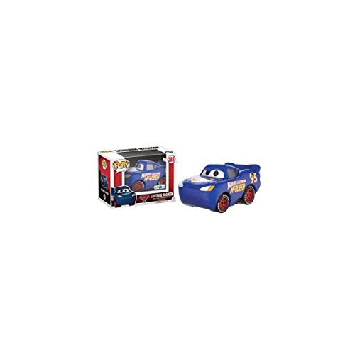 Funko 14234 - Disney Cars 3 3 Figure Lightning Mcqueen Blue Fabulous