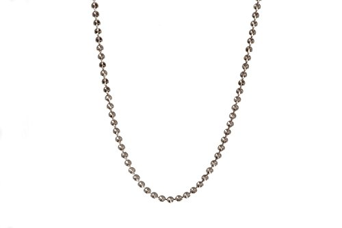 Babette Wasserman épingle-Collier Femme-Argent 925/1000-Lune de 45cm argent