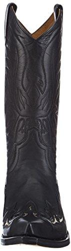 Sendra bottes 3242 python western Noir - Noir
