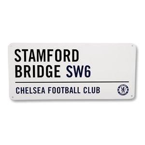 Official Chelsea Street Sign Straßenschild Chelsea Fc Cufflinks