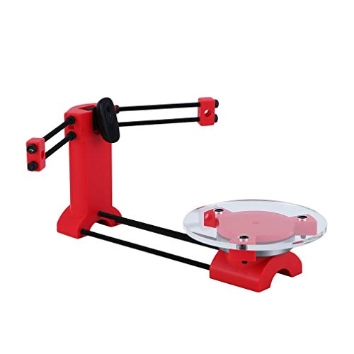 Ciclop 3D Scanner Hohe Präzision Dreidimensionale DIY 3d Laser Scanner Platte Kit, Rot