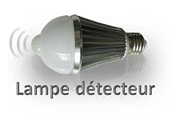 d tecteur de mouvement int gr ampoule led e27 de 7 watts. Black Bedroom Furniture Sets. Home Design Ideas