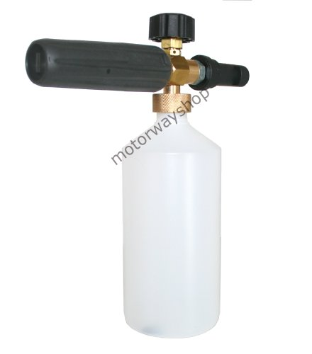 1L Snow Foam Lance Adjustable Spray Bottle WITH KEW/ALTO/NILFISK ADAPTOR
