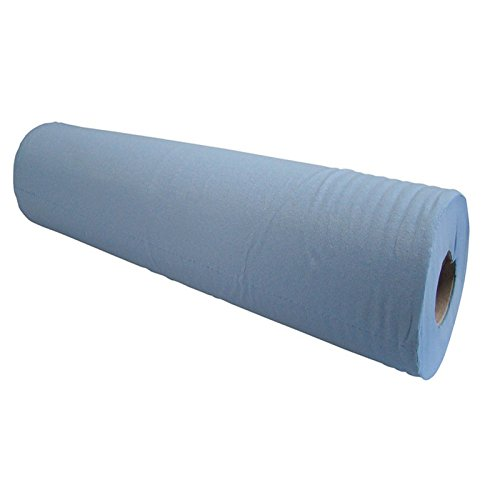 Blue Massage Couch Bed Roll. 2 Ply Hygiene Roll. 20 (50 Centimetres) Wide x 50 metres Long From Simply Direct by Simply Direct - Couch Roll