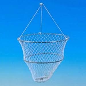 Balance de pêche métallique écrevisses / crabes avec flotteur Grauvell
