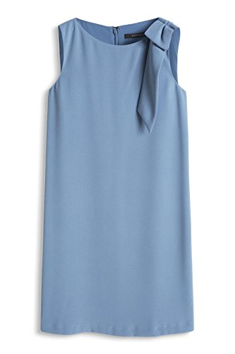 Esprit 076eo1e003, Robe Femme Bleu (BLUE 430)