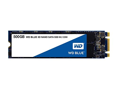 Western Digital WDS500G2B0B WD Blue 500GB 3D NAND