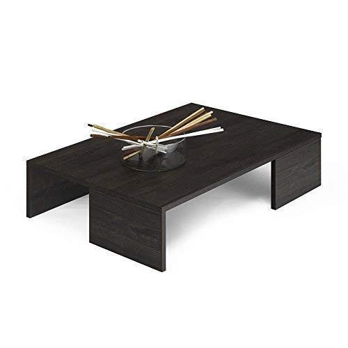 Mobili Fiver Rachele, Tavolino da Salotto, Legno, Rovere Marrone, 90x60x21  cm