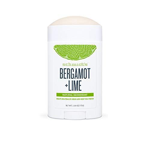 Schmidt's Natural Stick - Desodorante bergamota limón