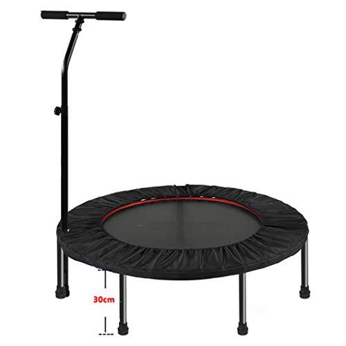LKFSNGB 40-Zoll-Trampolin mit stabilem Lenker, Sporttrampolin für Kinder, Mini-Fitness-Trampolin für drinnen und draußen - Maximale Belastung 200 kg