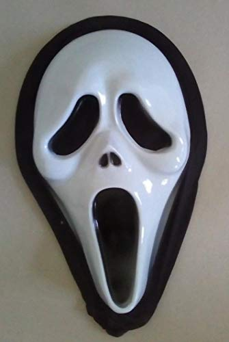 saxxdeluxe Scream - Horror - Maske - Fasching Halloween Party Kostüm Karneval Theater ()