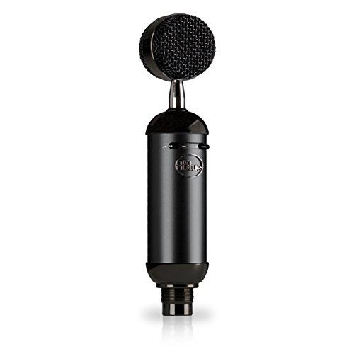Blue Spark Blackout SL XLR Kondensatormikrofon Für Professionelle Aufnahme- Und Streaming-Anwendungen Star Arm Warmers