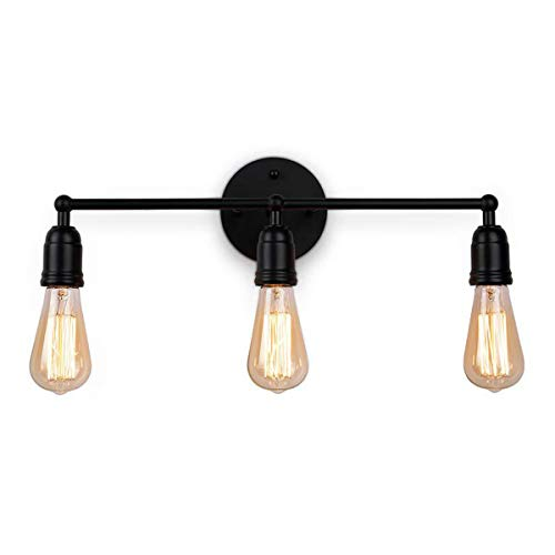 XZHBD Lámparas De 3-Quemador Espejo Baño Luz Lámpara